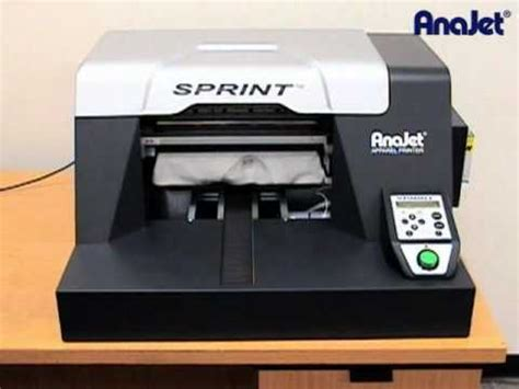 Printer Dtg Anajet anajet sprint direct to garment printer