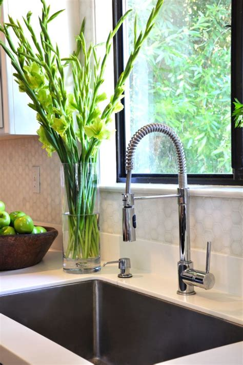 restaurant style kitchen faucets neely road kitchen refresh restaurant style faucet