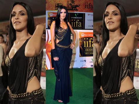 Blouse Tanisya Limited srees saree design 2011 neha dhupia in amazing saree