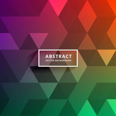 colored shapes polygonal background with colored shapes vector free