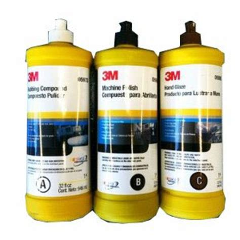 Compound 3m 5973 3m buffing polishing compound glaze package 5973 5996 5990 industrial