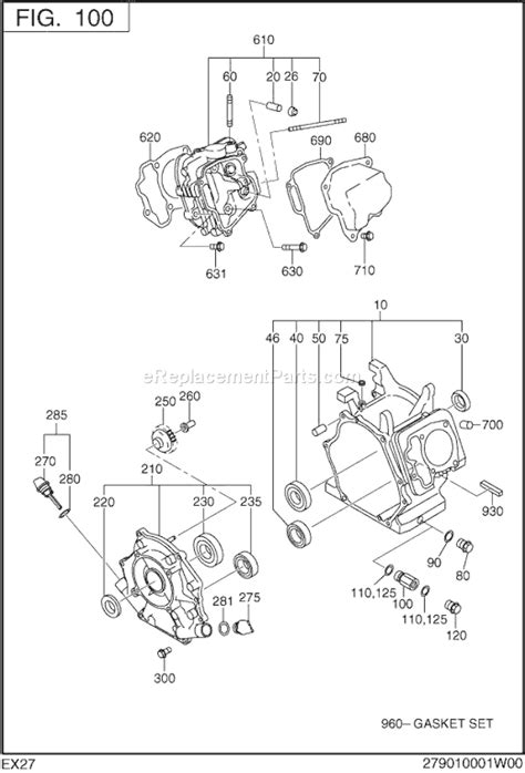 robin ex21 parts diagram robin free engine image for