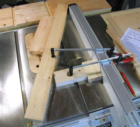 degree in woodworking cove cutting on the table saw