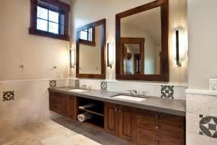 Framed Bathroom Mirrors Ideas Bathroom Mirrors Framed Wood Best Decor Things