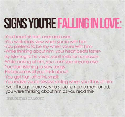 12 Signs Hes Falling In With You by Signs You Re Falling In Quotes I Inspiration