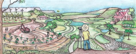 keyline design definition permaculture swales a permaculture design course handbook