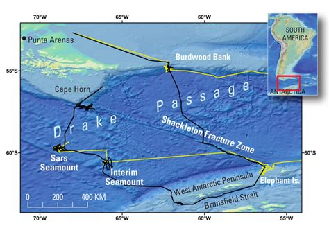 south america map passage climate history and sea coral habitats clues from the
