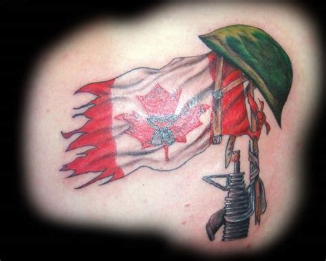 canadian tattoos 50 most beautiful flag design ideas