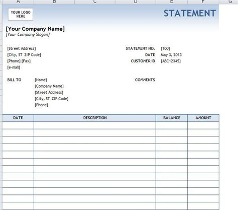 sle billing statement google search business form