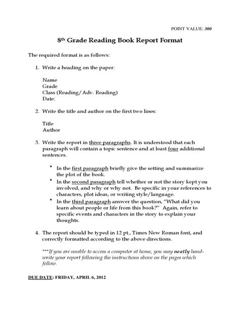 book report exles 9th grade 9th grade book report outline 28 images printables and