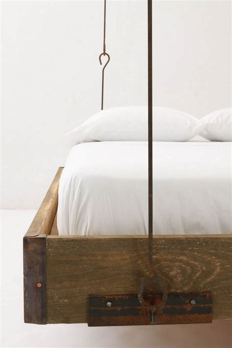 suspended bed let s stay creative hanging bed furniture ideas