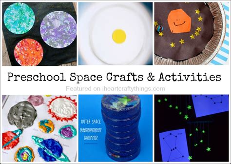 kindergarten activities on space preschool space crafts and activities i heart crafty things