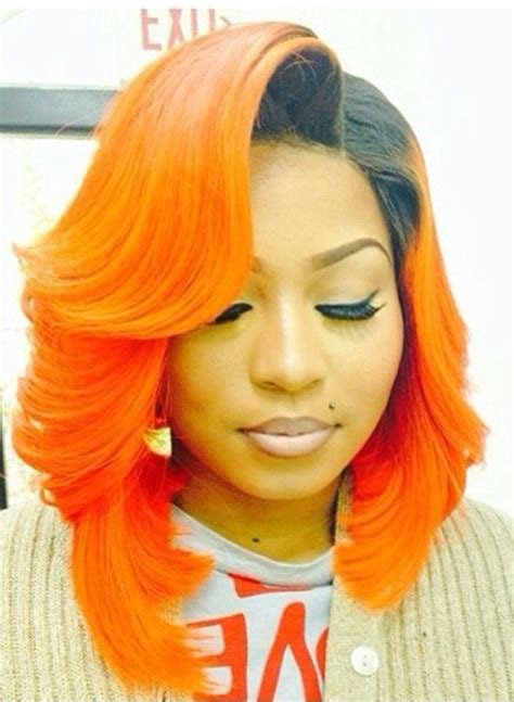 hair weave for feathered ombre hairstyle for african american only 128 best images about bob weave hairstyles on pinterest