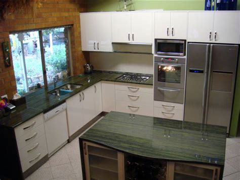 Bamboo Kitchen Countertops Reviews by Verde Bamboo Granite Installed Design Photos And Reviews