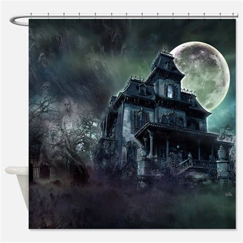 haunted house curtains haunted mansion shower curtains haunted mansion fabric