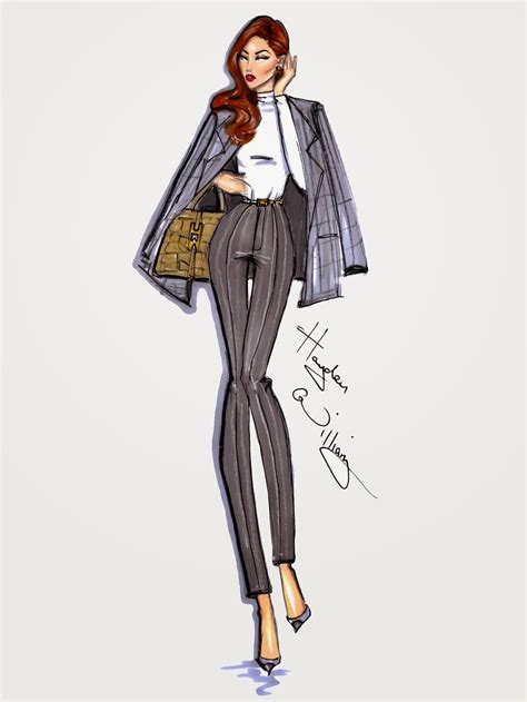 Style On The Go hayden williams fashion illustrations style on the go