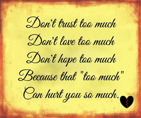too much and not not too much best life quotes