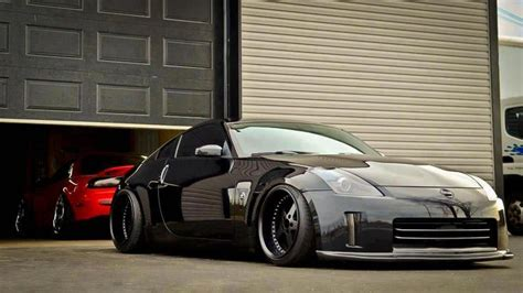 slammed jdm cars this 350z looks completely gangsta z family pinterest