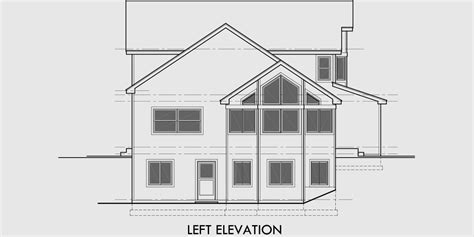 sloping lot house plans view sloping lot