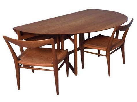 Dining Table With Folding Sides Marvellous Folding Dining Table And Chairs Teak Curv And