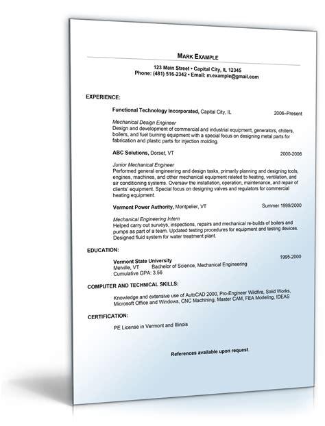 Anschreiben Usa Bewerbung Ingenieur Lebenslauf