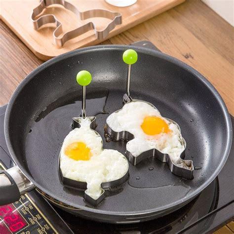 Stainless Steel Fried Egg Mold stainless steel fried egg mold 187 petagadget