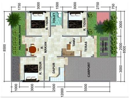 desain rumah minimalis sederhana  lantai  kamar tidur home pinterest house
