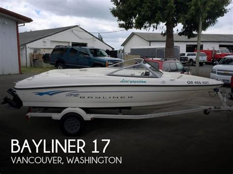 power boats for sale vancouver 2008 bayliner 17 power boat for sale in vancouver wa