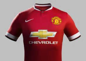 Manchester United Chevrolet Jersey Manchester United 2014 2015 Jerseys Released Yes We Foot