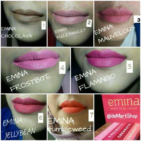 Harga Lipstik Emina No 2 emina creamatte lipstik shopee indonesia