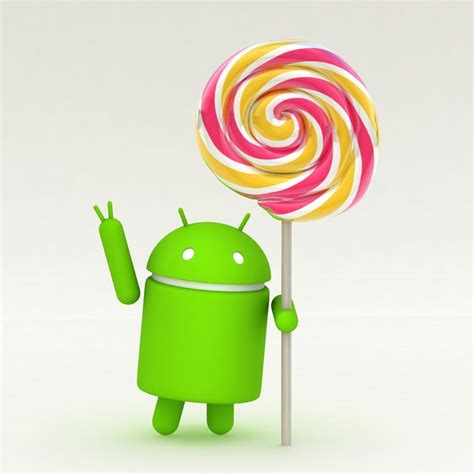 lolipop android android lollipop 3d model