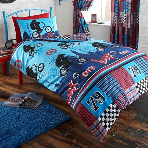 Bicycle Bedding Sets Bmx Bike Single Duvet Cover Set New Boys Bedding Ebay
