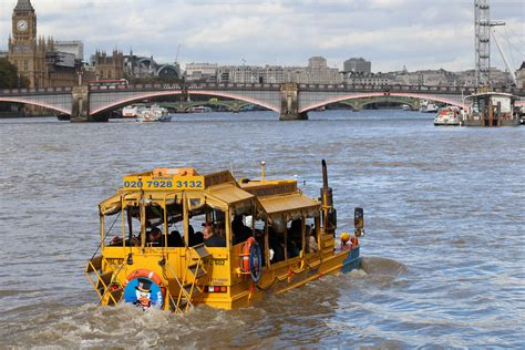 duck boat tour route a sightseeing tour of london with london duck tours