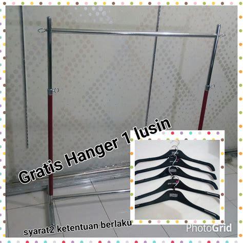Jual Gantungan Baju Model Gawang by Jual Gawang Gantungan Baju Kangdani