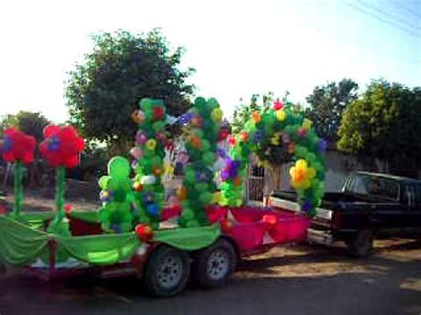 cadenas de oro blanco para niñas decoraci 243 n de carrosa con globos imagui