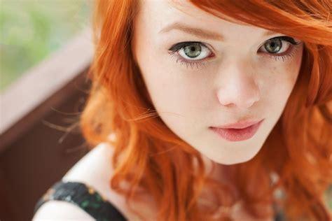beautiful model models female people background lass red girl beauty beautiful model female green eyes