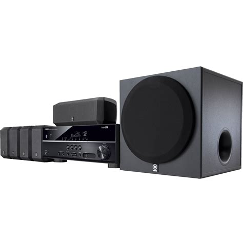 yamaha yht 3920ubl 5 1 channel home theater in a box yht
