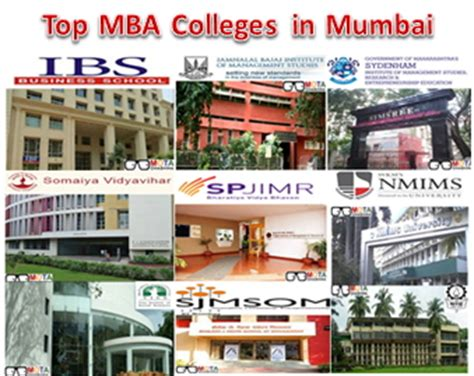 Best Institute For Mba In Mumbai by Top Mba Colleges In Mumbai
