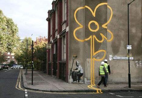 banksy art  vandalism infinitely curious