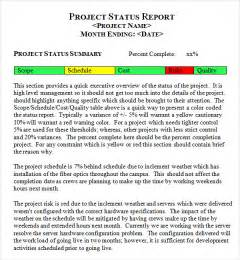 project management weekly status report sample weekly status report template 7 free pdf doc download best photos of progress report template construction