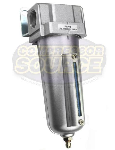 3 4 quot compressed air in line moisture water filter trap f706 compressor new ebay