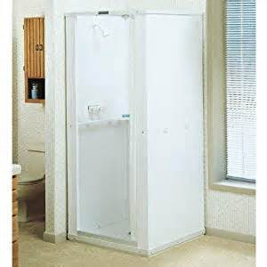 mustee 140 36 in x 36 in shower stall home
