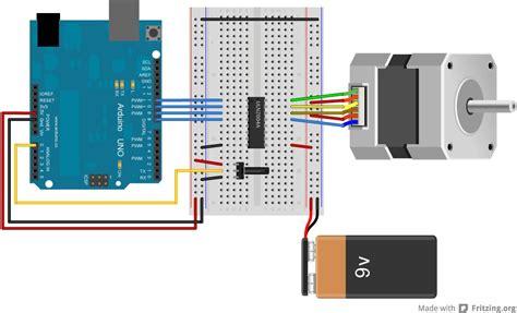 arduino 6 wire stepper motor arduino stepper motor wiring impremedia net