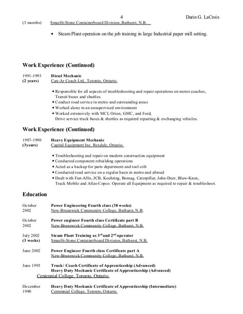 Exle Resume General Qualifications Resume General Qualifications