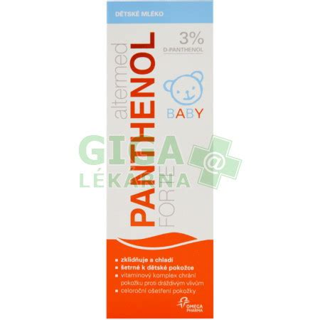 Lotion Malam Forte Lotion 3 altermed panthenol forte 3 baby lotion 200ml gigal 233 k 225 rna cz