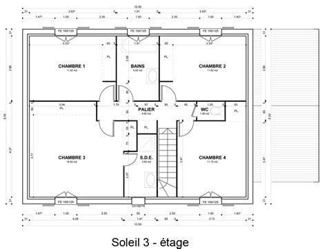 Plan Maison A Etage 4005 by Plan Maison A Etage Plan Interieur Maison Etage Plan