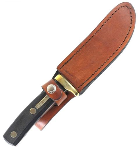timer fixed blade schrade timer 165ot woodsman fixed blade knife with