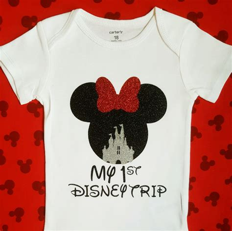 T Shirt My Trip disney shirts my disney trip shirt minnie mouse