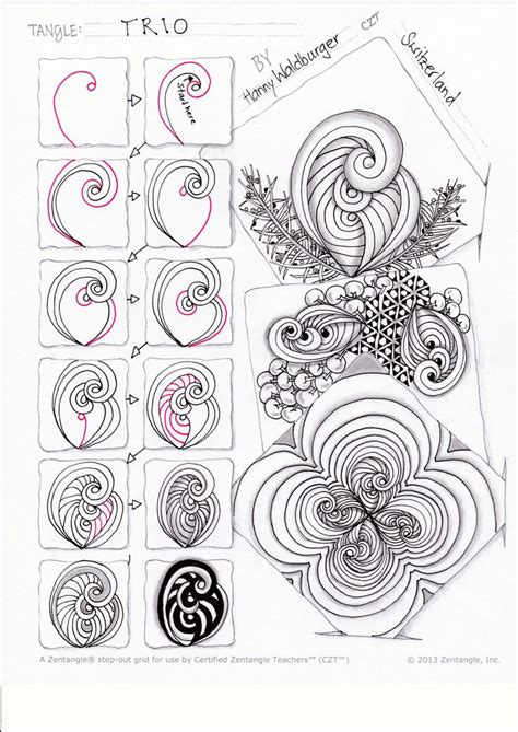 doodle how to start 17 best images about zentangle tangle patterns on