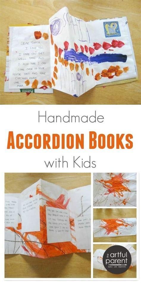 Handmade Story Books - handmade accordion books how to make simple books with